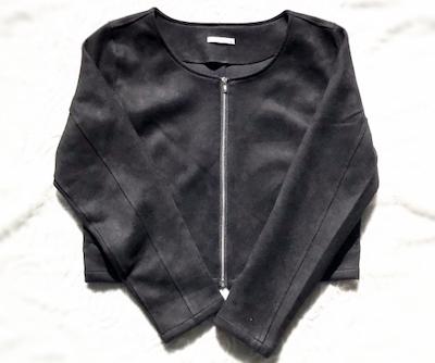 スエードジャケット