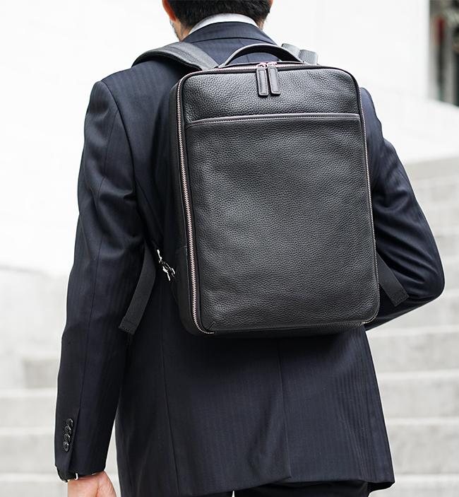 ファイブウッズ[GRAIN39094]ビジネスバックパックをレビュー!